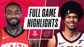 ROCKETS at CAVALIERS | FULL GAME HIGHLIGHTS | February 24, 2021