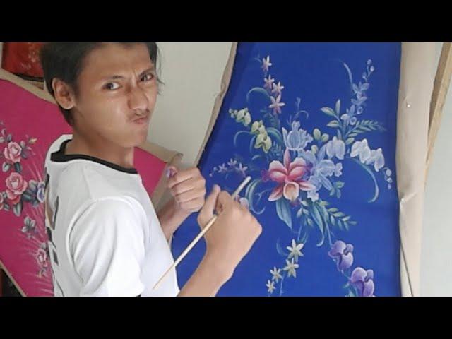 Gambar Mewarnai Bunga Anggrek Cari Gambar Download