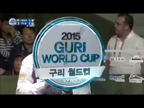 Jose Juan Garcia vs Frederic Caudron 3 Cushion Billiards World Cup 2015