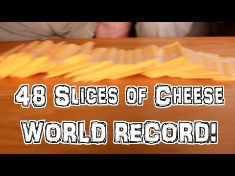 48 Slices of Kraft American Cheese in 3 Minutes? TEAM CHALLENGE w/ Matt Cohen (WORLD RECORD ATTEMPT)