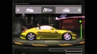 NFSU2 Fast and Furios Tokyo Drift Morimoto`s 350z Yapımı