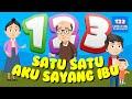 Satu Satu Aku Sayang Ibu ❤ Lagu Anak Anak 🎶 Sayang Semuanya 🎶 YouTube Kids 🎶 123 Lagu Anak Indonesia