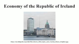 Economy of the Republic of Ireland