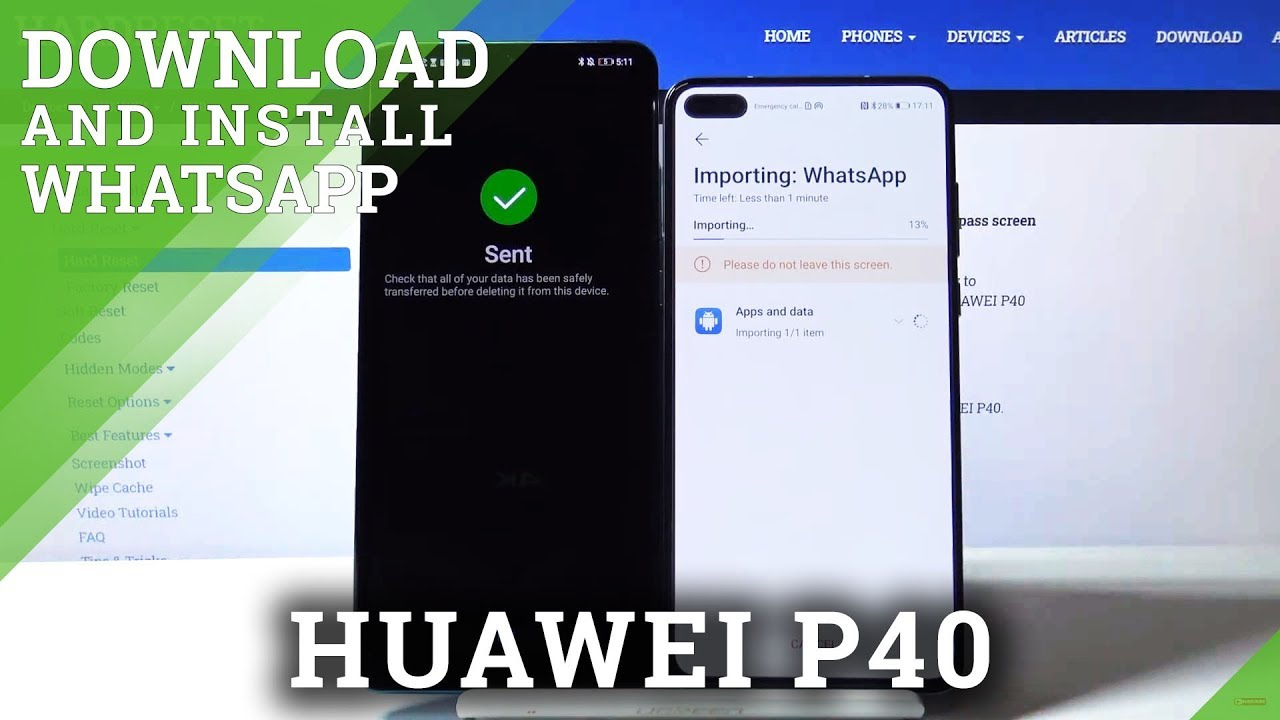 Huawei Whatsapp