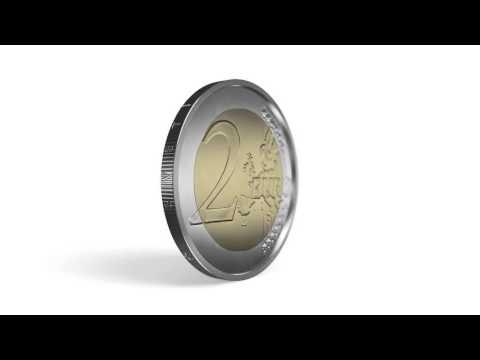 Latvijas 2 eiro monēta-Stārķis (2015). Latvian 2 euro coin -the Stork (2015)