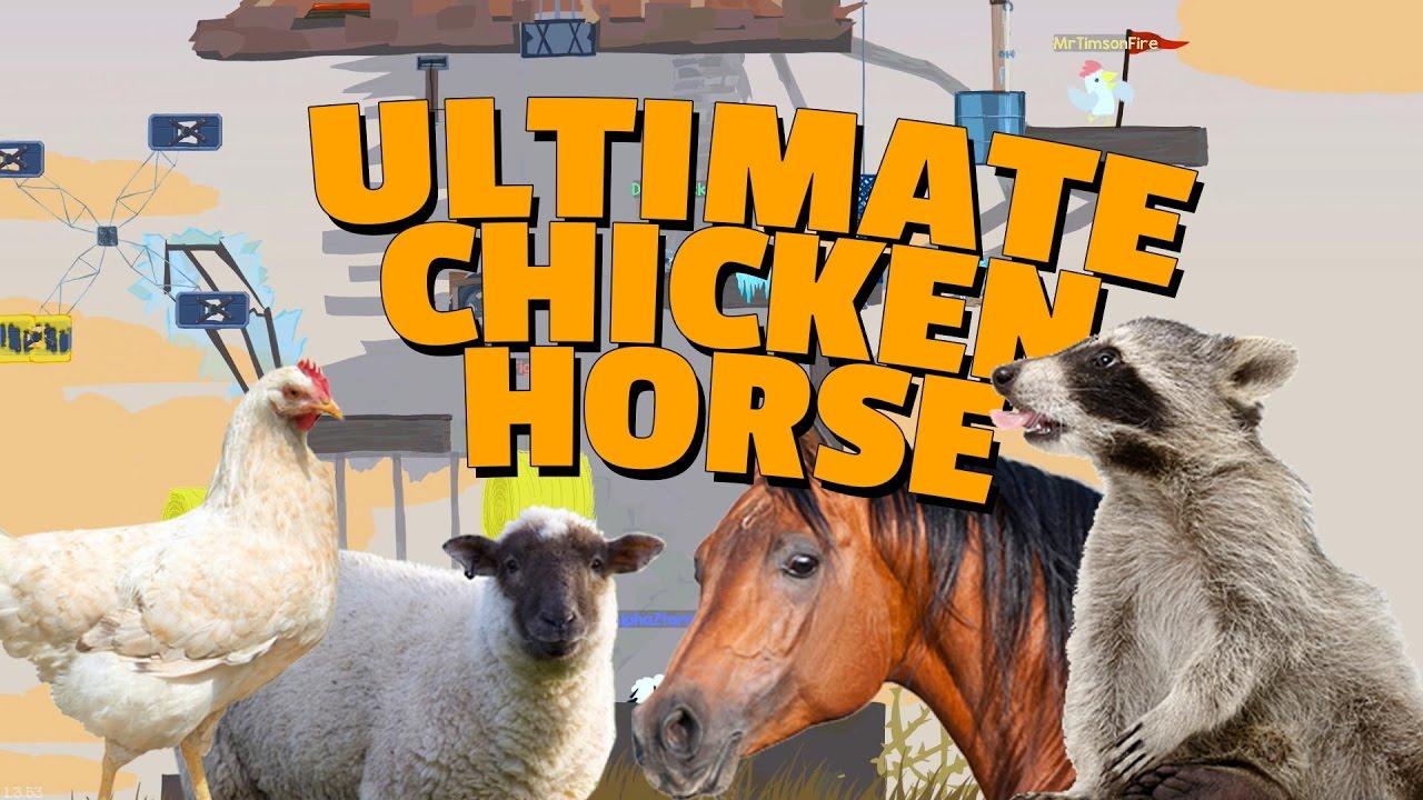ULTIMATE CHICKEN HORSE med figgehn & ArgaSkånskaMän - YouTube