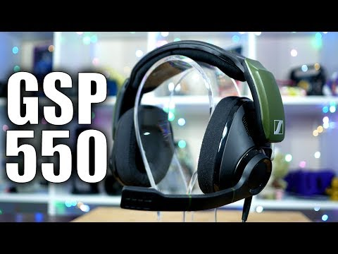 Sennheiser GSP 550 Gaming Headset Review: Grown Up Gaming Audio