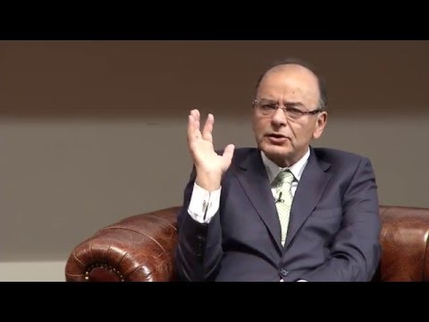 In Conversation with Arun Jaitley, Finance Minister of India