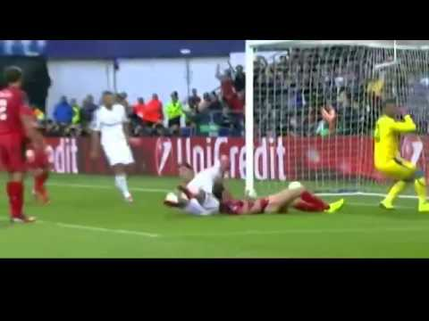 Real Madrid Vs Sevilla 2-0 Highlights All Goals 13 August 2014