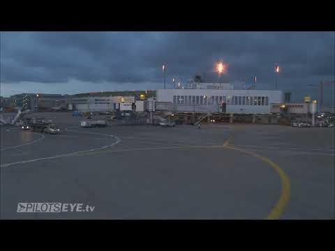 Pilotseye.tv - LTU Airbus A330 Dusseldorf Departure [English Subtitles]