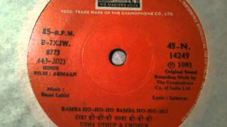 Usha Uthup & Bappi Lahiri - Ramba Ho Ho Ho (45 version)