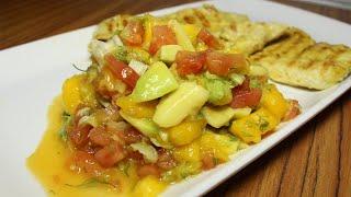 Ensalada de Mango y aguacate - FACIL RAPIDA Y SALUDABLE