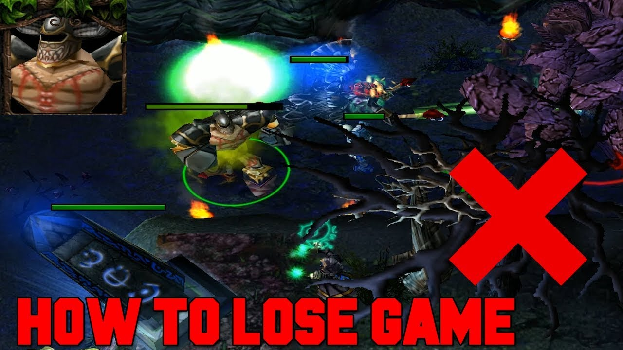 DOTA UNDYING – HOW TO LOSE GAME (DIRGE GODLIKE)
