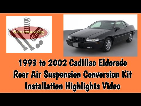 How To Fix The Rear Air Suspension On A    Cadillac    Eldorado  YouTube