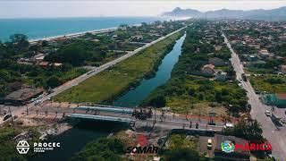 Inauguração da ponte sobre o Canal da Costa em Maricá - PROCEC