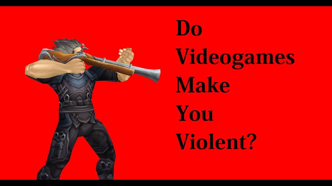 Do violent video games make people aggressive? Study