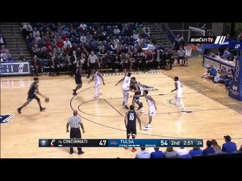 Men's Basketball Highlights: Cincinnati 57, Tulsa 55 (Courtesy CBS Sports Network)