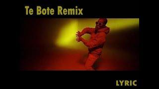 Te Bote Remix - Casper, Nio Garcia, Darell, Nicky Jam, Bad Bunny, Ozuna [LYRICVIDEO]