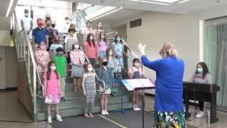 NSCD –Lower School Chorus Sings G7 Song