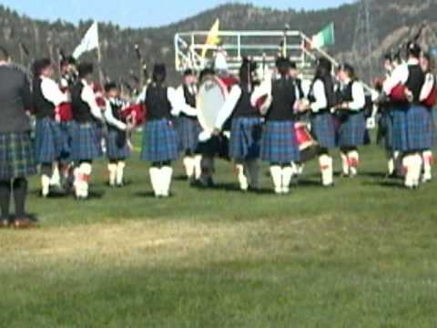Centennial State Pipes and Drums - QMM 2012