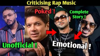 Raftaar's Unofficial Song | Shaan Sir Poked to Honey Singh and talked about Rap Music | Singhsta