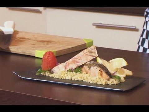 Готовим с Ервандом: Стейк лосося в сливочном соусе