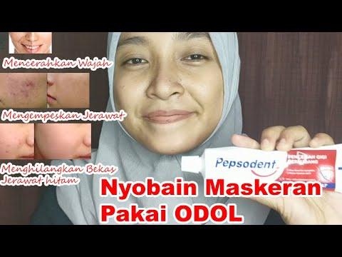 Masker Odol Pasta Gigi Cara Memutihkan Wajah Dan Menghilangkan Jerawat Youtube