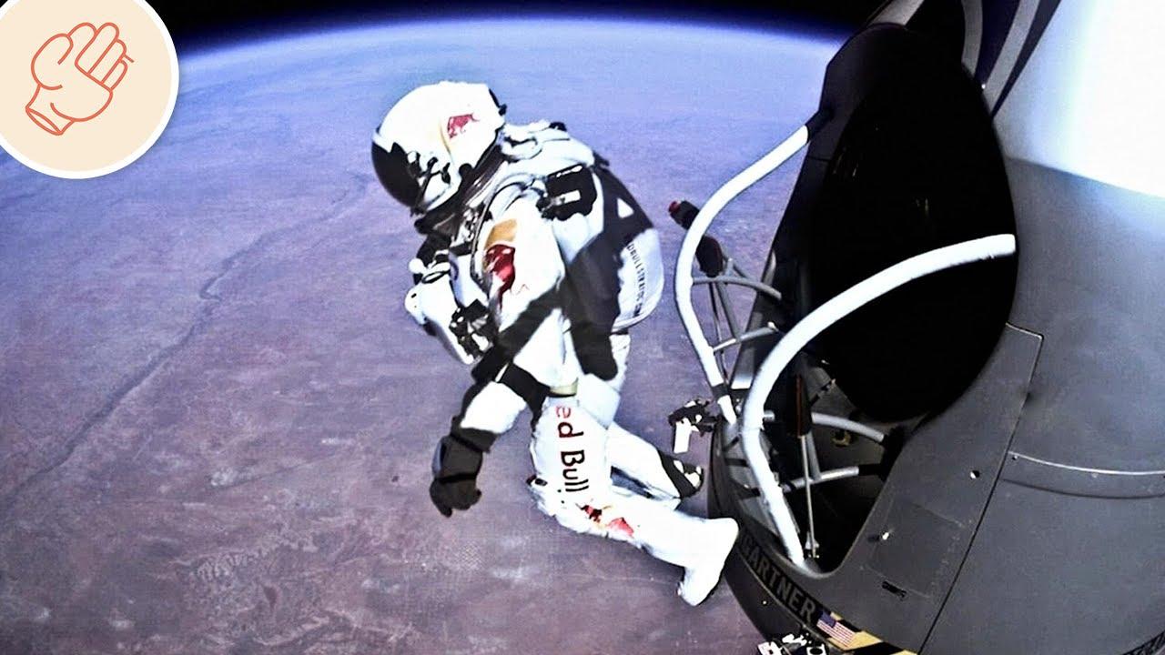 在地球上空跳下!最危險的世界紀錄