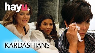 Kris Shares Her Baby Shower Home Videos | Keeping Up With The Kardashians
