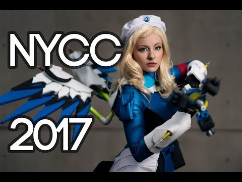 NEW YORK COMIC CON 2017 COSPLAY MUSIC VIDEO  VLOG!