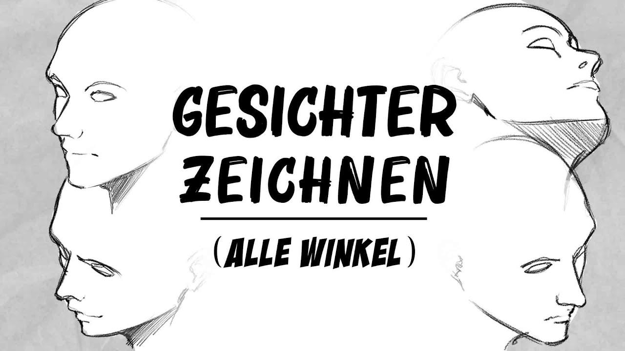 Download GESICHTER zeichnen - Aus ALLEN Winkeln | Tutorial | Drawinglikeasir