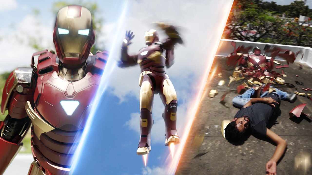 Iron Man Suit Failure- In Real Life #shorts