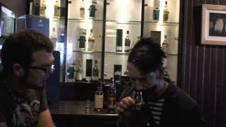 whisky comedian podcast the boy with tape on his face smokehead islay malt