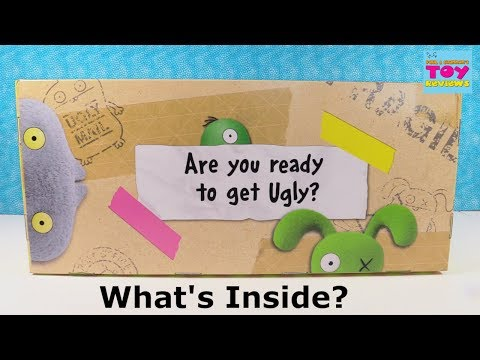UglyDolls Movie Toys Surprise Present Unboxing Toy Review | PSToyReviews