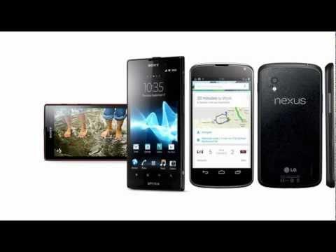 Sony Xperia ion HSPA & LG Nexus 4 E960, full differences