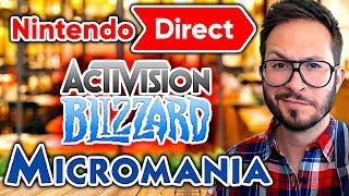 Micromania rassure, gros licenciements chez Activision, Nintendo Direct en approche...