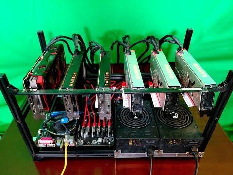 6 GPU X Vega 64 Mining Rig Spotlight | Mining Rig Spotlight #3