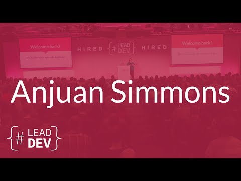 Leadership Lessons from the Agile Manifesto – Anjuan Simmons | The Lead Developer UK 2017