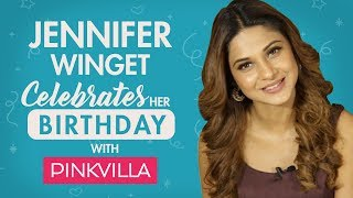 Jennifer Winget celebrates her birthday with Pinkvilla   Beyhadh   TV interview