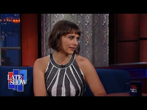 Rashida Jones Teaches Stephen How To Be A Feminist