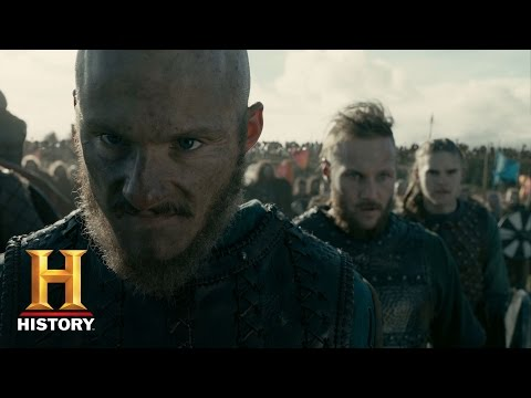 Vikings: The Great Army Arrives On The Battlefield (Season 4, Episode 18) | History
