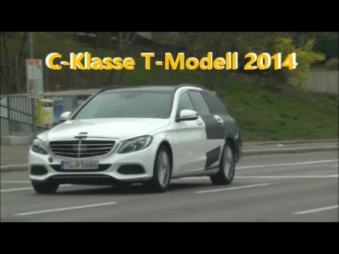 erlk nig auf der stra e mercedes c klasse t modell 2014 c class estate car 2014 prototype. Black Bedroom Furniture Sets. Home Design Ideas