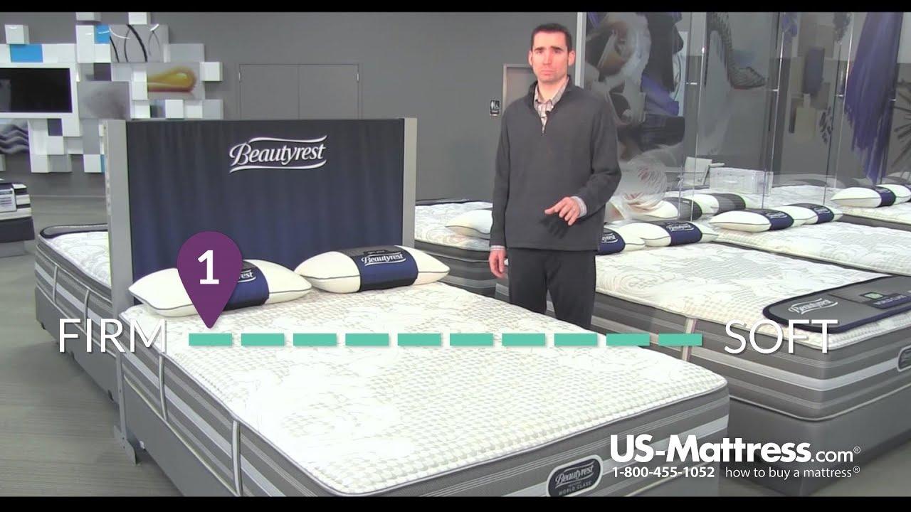 simmons beautyrest recharge world class rosamond ii ultimate firm mattress youtube