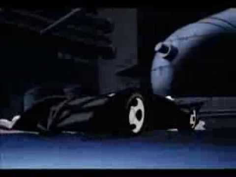 The Batmobile as it appears in The New Batman Adventures
