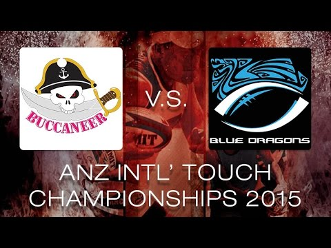 ANZ Intercities 2015 - Mixed Open - Buccaneer vs. HK Blue Dragons