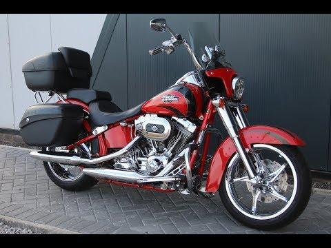 2017 Harley Davidson Cvo Softail Convertible Scarlet Red Wchd Glasgow Scotland
