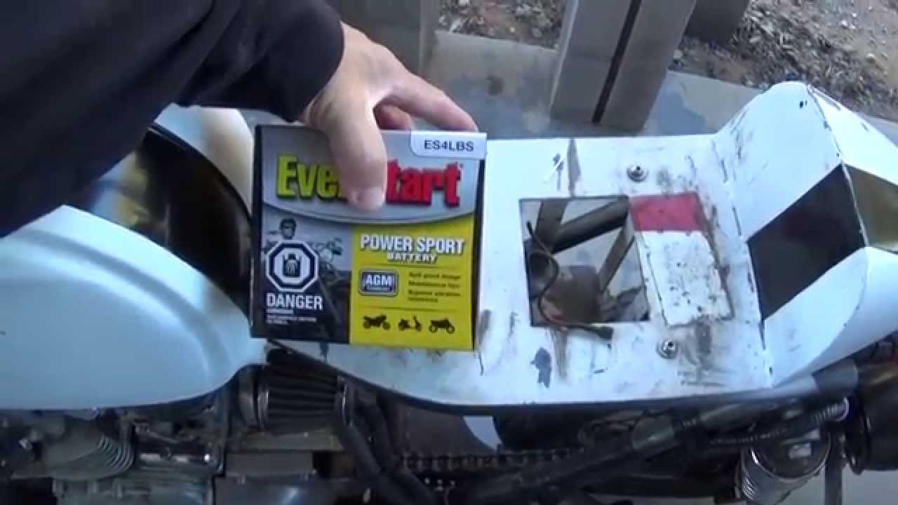 walmart motorcycle battery things i learned - youtube