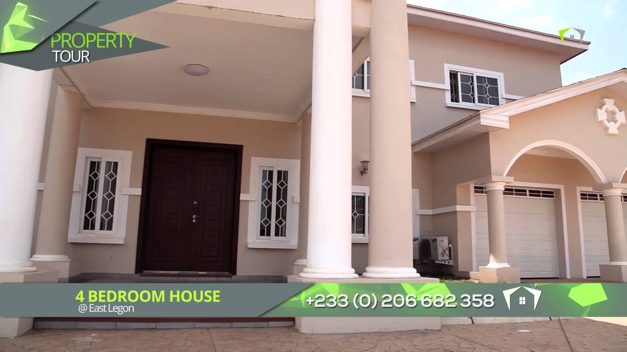 4 BEDROOM HOUSE at EAST LEGON for SALE YouTube