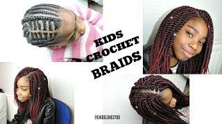 CROCHET BRAIDS FOR KIDS || SENEGALESE TWIST