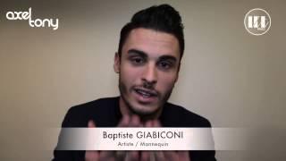 "Baptiste Giabiconi - Dédicace Album ""Je Te Ressemble"" AXEL TONY"